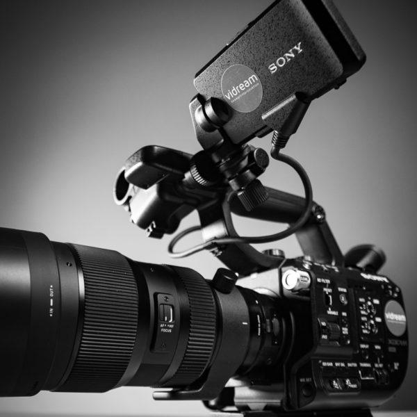 Sony FS5 Sigma 50-100 Art